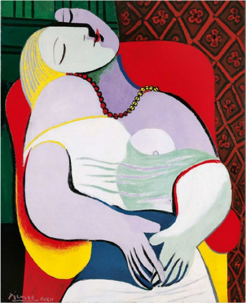 Can we retrace a year of Pablo Picasso's life ?