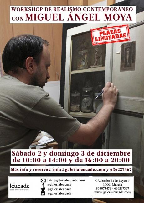 Workshop de realismo contemporáneo con Miguel Ángel Moya