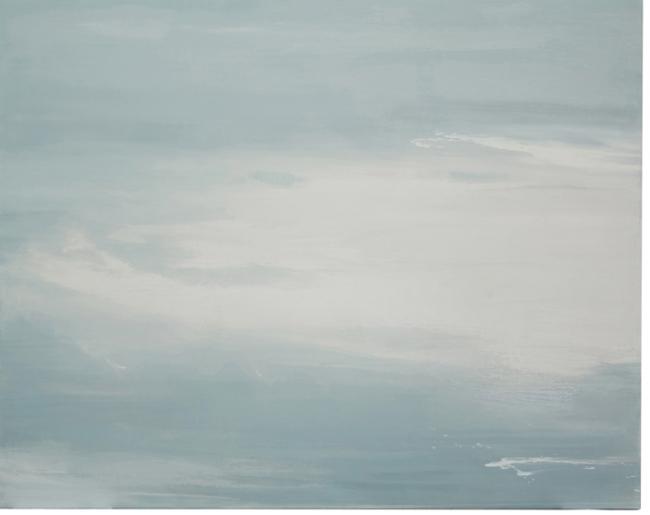 Isabel Fuster. S.T., acrílico lienzo 81x100 – Cortesía de la Galería Orfila