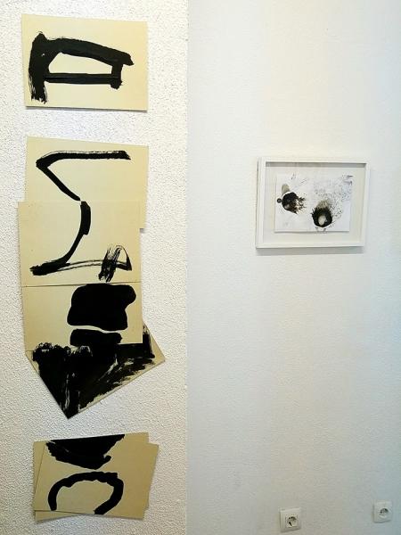 Vicente Pastor. César Barrio | Ir al evento: 'No Título. No Texto.'. Exposición de Pintura en Oficina De Proyectos / Gijón, Asturias, España