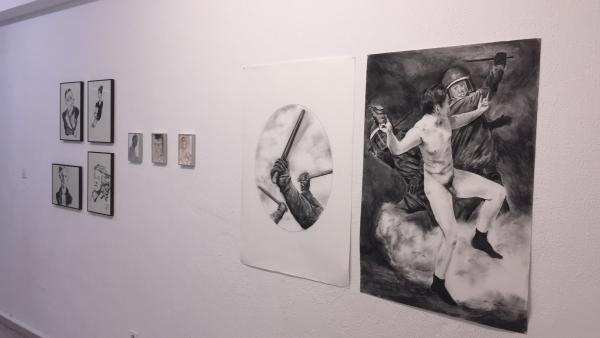 Alfonso Fernández. Juan Fernández | Ir al evento: 'No Título. No Texto.'. Exposición de Pintura en Oficina De Proyectos / Gijón, Asturias, España