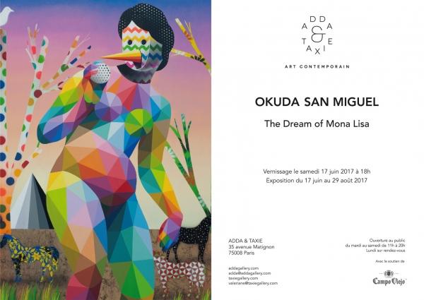 Okuda San Miguel. The Dream of Mona Lisa