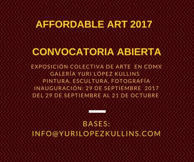 Affordable Art 2017