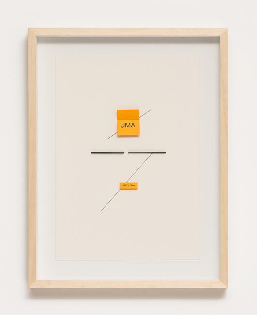 Untitled | Ir al evento: 'Waltercio Caldas, Desenhos e ou...'. Exposición de Diseño en Galeria Raquel Arnaud / São Paulo, Sao Paulo, Brasil