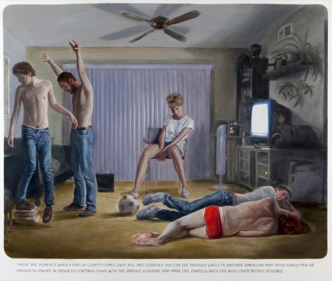 Muntean & Rosenblum, Untitled (These are moments...) (2012) – Cortesía del Museo de Arte Contemporáneo Gas Natural Fenosa (MAC)