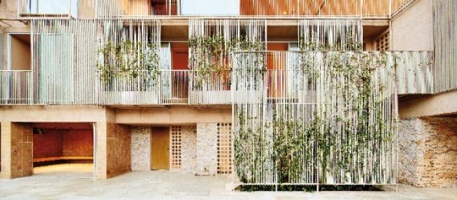 Casa Andamio (Girona, España). Arquitectos: bosch.capdeferro arquitectures. Foto: José Hevia – Cortesía de la Bienal Española de Arquitectura y Urbanismo