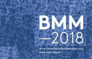 Logo de Bienal Miradas de Mujeres 2018