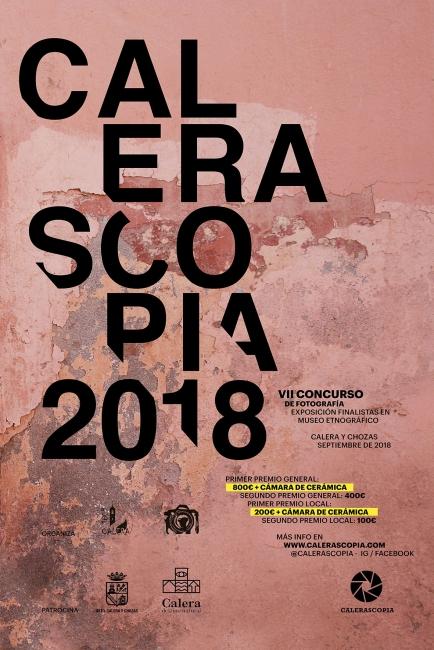 VI Concurso Internacional de Fotografía Calerascopia 2018.