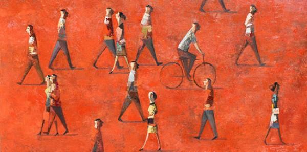 Didier Lourenço, Hot, 2014 | Ir al evento: 'Únicos'. Exposición de Pintura en BAT-Alberto Cornejo / Madrid, España
