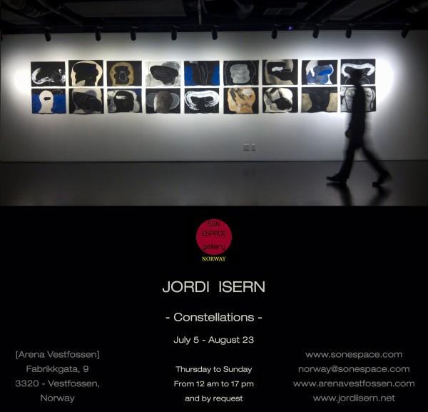 Flyer | Ir al evento: 'Constellations'. Exposición de Pintura, Video arte en Arena Vestfossen / Buskerud, Noruega