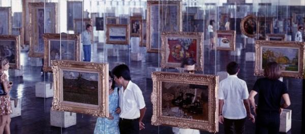 Lina Bo Bardi, Pinacoteca del MASP, Sao Paulo, 1959-67