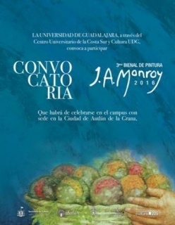 Tercera Bienal de Pintura José Atanasio Monroy 2016