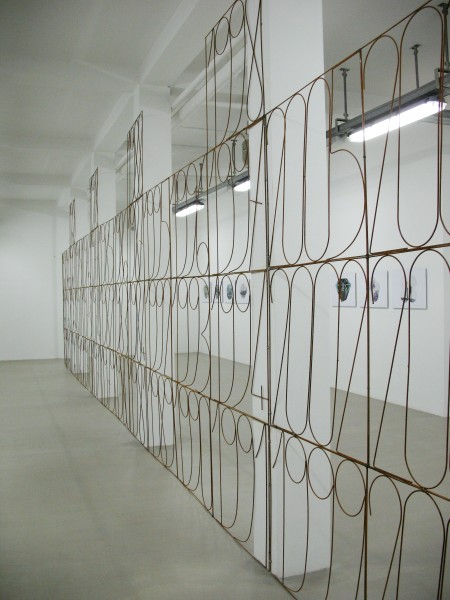 DIANGO HERNANDEZ, Years, 2008. Installation view at Federico Luger (FL Gallery), 2008. Courtesy Federico Luger (FL GALLERY)