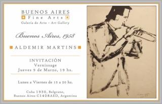 Aldemir Martins. Buenos Aires, 1958