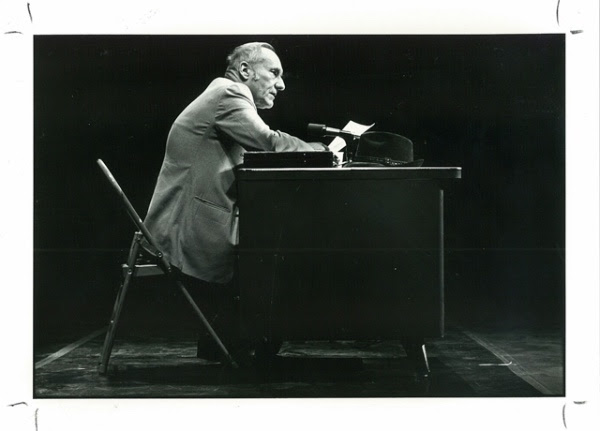 William Burroughs, Nova Convention, 1978 © James Hamilton
