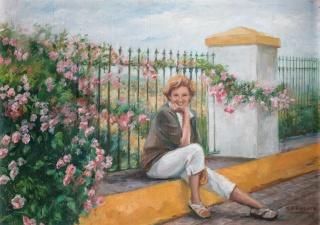 María Teresa Romero – Cortesía del Museo de Bellas Artes de Badajoz