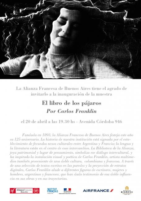 EL LIBRO DE LOS PÁJAROS. Imagen cortesía Alianza Francesa de Buenos Aires