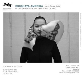 Andrea Santolaya. Russkaya Amerika. Los vigías de la fe