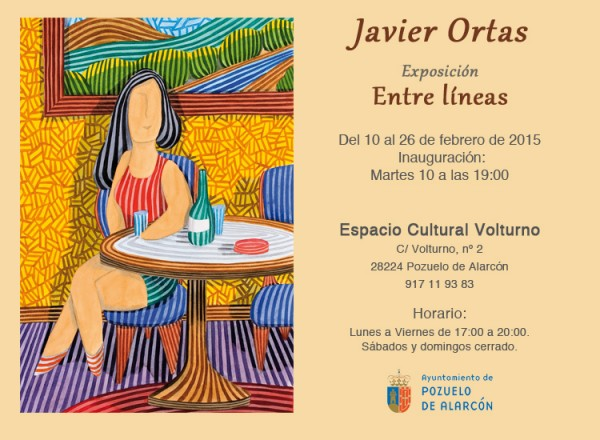 Invitación a Exposición Javier Ortas