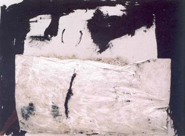 Gran paquet de palla, 1969. Antoni Tàpies