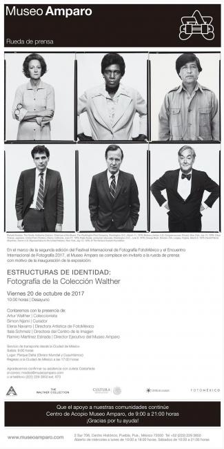 ESTRUCTURAS DE IDENTIDAD: FOTOGRAFÍAS DE LA COLECCIÓN WALTHER. Cortesía del Museo Amparo
