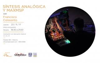 Workshop de Síntesis Analógica y MaxMSP