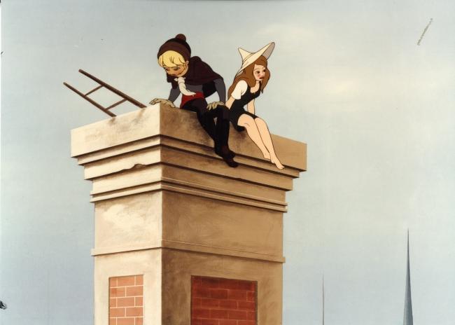 "Le Roi et l'oiseau, 1979. Paul Grimault – Cortesía de la Obra Social ""la Caixa"""