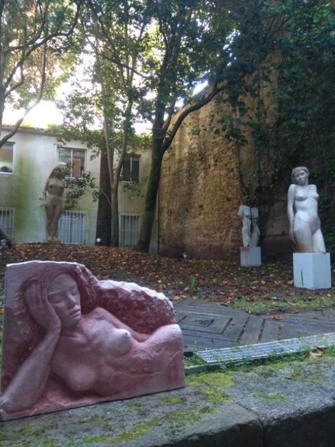 Vista de la exposición – Cortesía de la Galería José Lorenzo