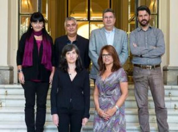 Comisión evaluadora | Ir al evento: 'Ayudas Fundación BBVA a la Creación en Videoarte'. Beca de Video arte