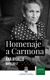 Ana Aydillo. Homenaje a Carmona