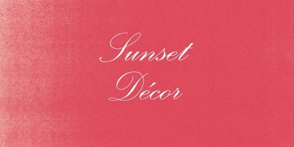 Sunset Décor