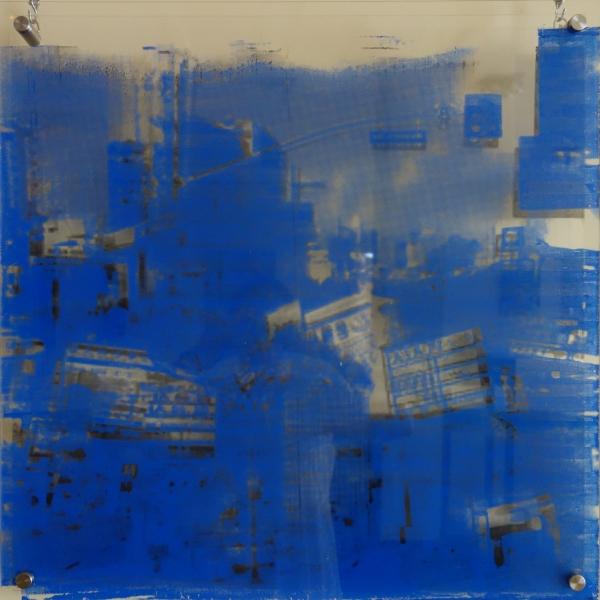 REMEMBRANCE-ARTISTA YU KYOUNG KIM- TÉCNICA MIXTA-92 X 91 X 4,5 CM