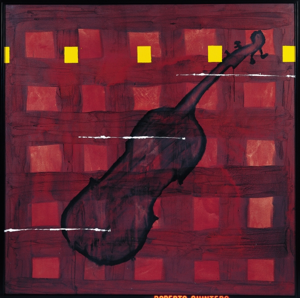 Sombras, de Menchu Lamas, 1994 | Ir al evento: 'Sonoro empeño: A música nas coleccións Afundación e ABANCA'. Exposición de Arte sonoro, Pintura en Sede Afundación Ferrol / Ferrol, A Coruña, España
