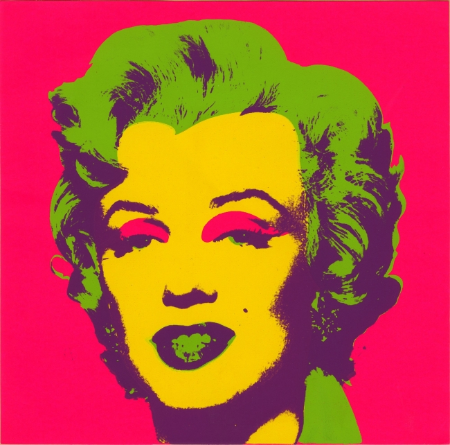 Andy Warhol. Marilyn Print. 1967. Seríagrafía sobre papel. Collection of the Andy Warhol Museum, Pittsburgh © 2017, The Andy Warhol Foundation for the Visual Arts, Inc. / VEGAP | Ir al evento: 'Warhol. El arte mecánico'. Exposición en Fundación La Caixa - CaixaForum / Barcelona, España