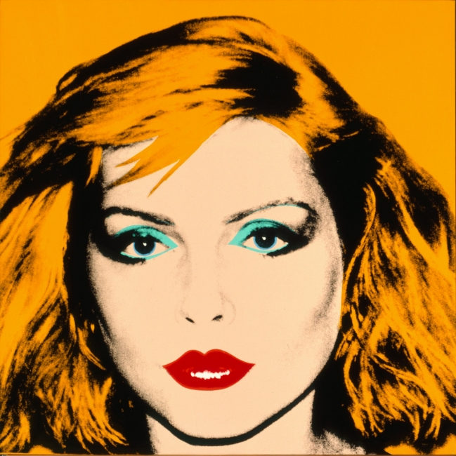 Debbie Harry. 1980. Acrílico y serigrafía sobre lino. Collection of the Andy Warhol Museum, Pittsburgh © 2017 The Andy Warhol Foundation for the Visual Arts, Inc. / VEGAP | Ir al evento: 'Warhol. El arte mecánico'. Exposición en Fundación La Caixa - CaixaForum / Barcelona, España