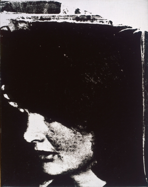 Jackie. 1964. Tinta serigráfica sobre lino. Collection of the Andy Warhol Museum, Pittsburgh