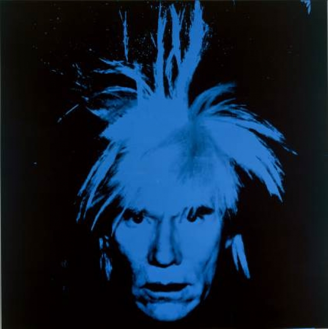 Andy Warhol, Autorretrato, 1986. Collection of the Andy Warhol Museum, Pittsburgh © 2017 The Andy Warhol Foundation for the Visual Arts, Inc. / VEGAP