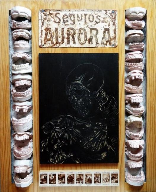 Pedro José Pradillo. Aurora | Ir al evento: 'Ecce–homo. A propósito de F. Nietzsche'. Exposición de Escultura, Pintura en Art Room - Investigación y Arte / Madrid, España