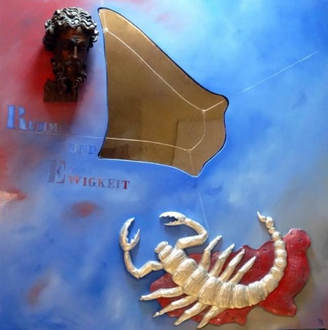 Pedro José Pradillo, Gloria y eternidad | Ir al evento: 'Ecce–homo. A propósito de F. Nietzsche'. Exposición de Escultura, Pintura en Art Room - Investigación y Arte / Madrid, España