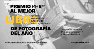 Premio PHE18 al Mejor Libro de Fotografía del Año