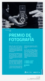 Premios Fundación ENAIRE 2018 - Premio de Fotografía