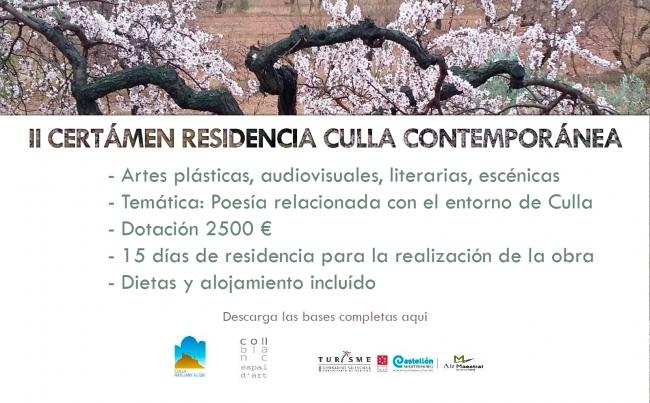 II Certamen Residencia Culla Contemporánea