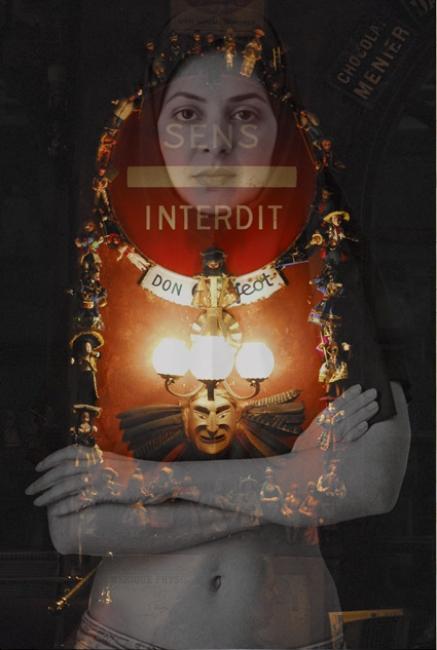 Niloufar Banisadr, Forbidden – Cortesía de la galería About Art | Ir al evento: 'Niloufar Banisadr'. Exposición de Fotografía en About Art / Lugo, España