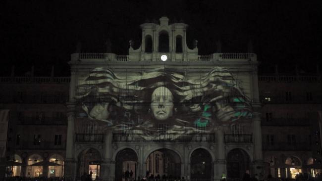 VideomappingPro, Pneuma [Premio del jurado] Cortesía del Festival Luz y Vanguardias