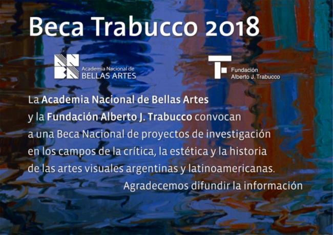 Beca Trabucco 2018
