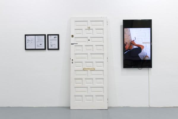 Núria Güell, Instalación Intervención #1, 2012