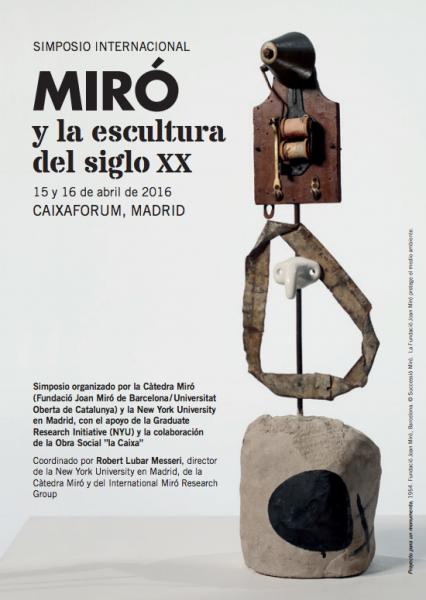 Simposio Internacional Miró y la escultura del siglo XX
