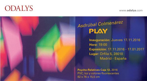 Asdrúbal Colmenárez, Play
