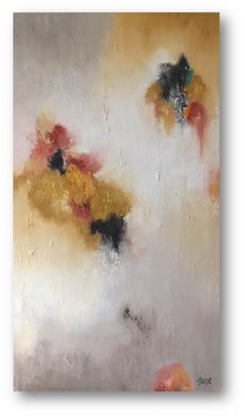María Miralles, death Valley IV, 180x81 cm.