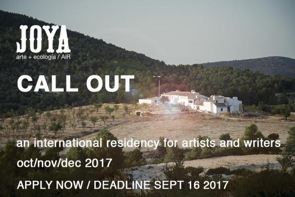 JOYA: AIR. ARTIST IN RESIDENCE 2017